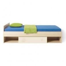 Односпальная кровать с выдвижным ящиком