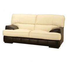 Двухместный диван двуцветный