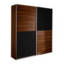 Платяной шкаф с раздвижными дверьми «Бяла»