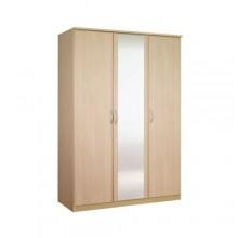 Платяной шкаф с тремя створками «Классик» с зеркалом