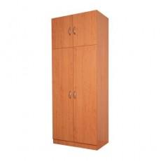 Платяной шкаф с двумя створками «Классик» с антресолью