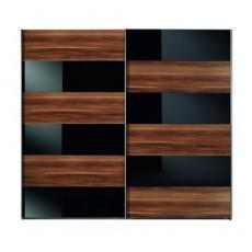 Платяной шкаф с раздвижными дверьми «Гланц»